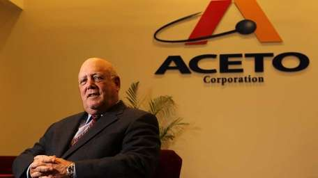 Aceto, led by chief executive Albert Eilender, said