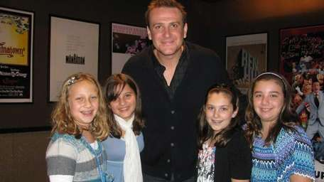 Actor Jason Segel from the Muppets movie with