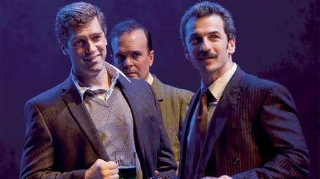 From left: Jeremy Davidson, Jefferson Mays and Michael