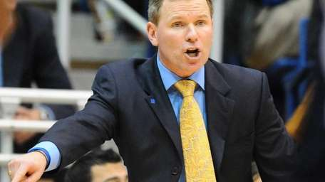Hofstra University men's basketball head coach Mo Cassara
