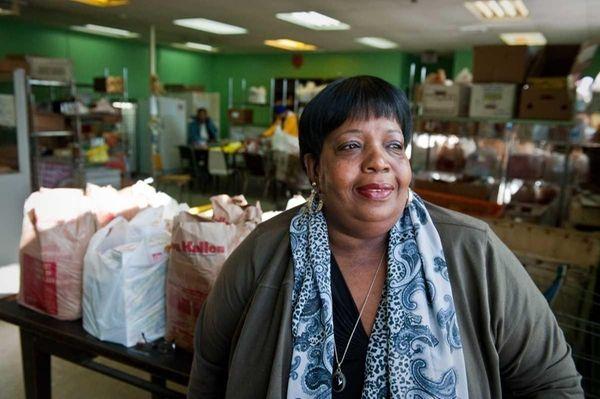Audrey Ellis is a volunteer at the LI