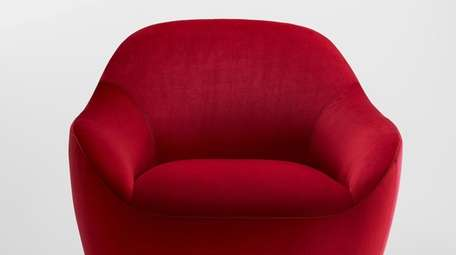 A piece in the Becca Seating Collection.