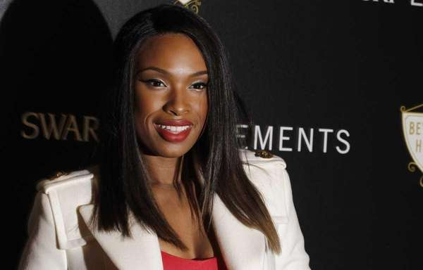 Jennifer Hudson arrives at the Swarovski Elements Rodeo
