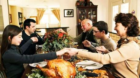Thanksgiving is the time of year when families