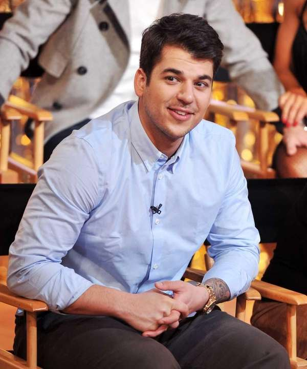 TV personality Rob Kardashian from the cast of