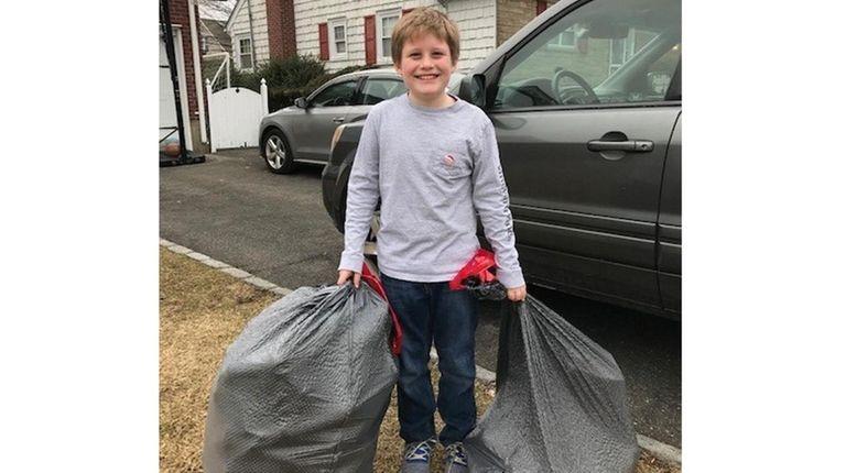 Kidsday reporter Charlie McCarthy, of St. Anne's School,