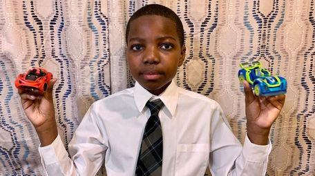 Kidsday reporter Joshua Dada, of St. Anne's School,
