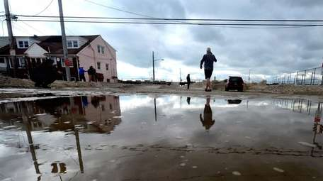 Flooding during storms such as superstorm Sandy caused