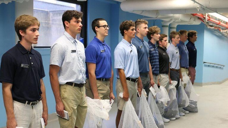 U S  Merchant Marine Academy kicks off new class of