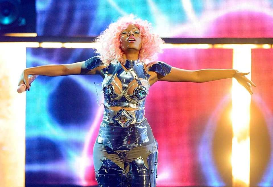 Singer Nicki Minaj performs onstage at the 2011