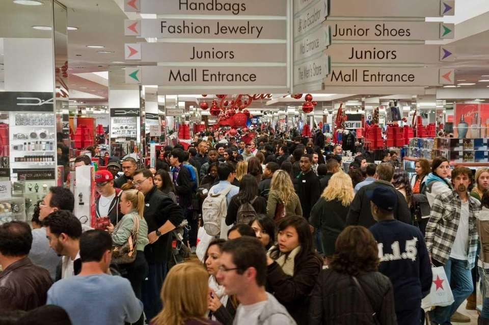 The crowds spill into the aisles, flooding the