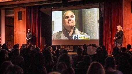 Robert Tarango, who is a blind and deaf