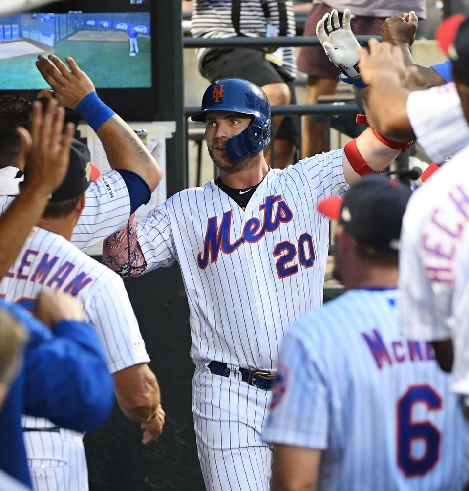 New York Mets first baseman Pete Alonso is