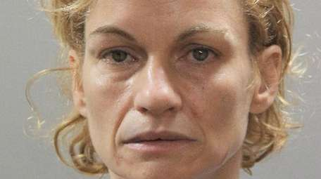 Natalie Lapelosa, 43, of Wantagh, is charged with