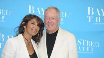 Jeff and Mala Sanders at the Bay Street