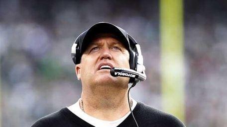 Jets' head coach Rex Ryan