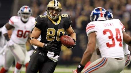 Tight end Jimmy Graham #80 of the New
