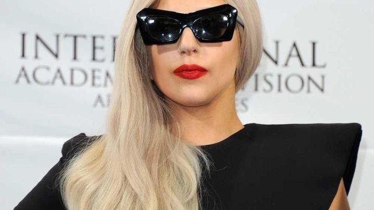 Lady Gaga attends the 39th International Emmy Awards