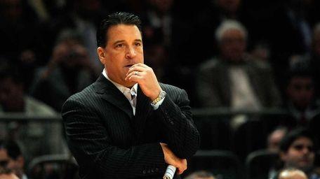Head coach Steve Lavin of the St. John's