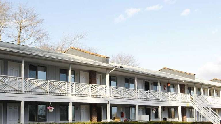 The Hidden Cove Motel in Hampton Bays. The