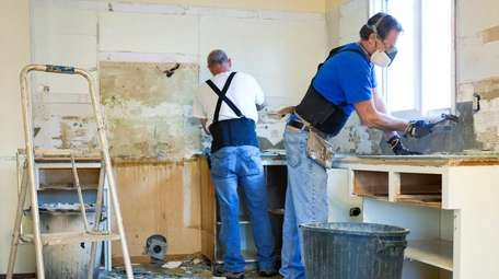 Fixer-uppers -- existing homes in need of updates