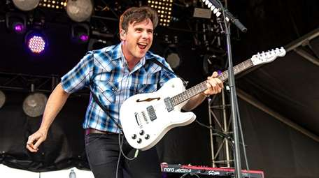 Jim Adkins of Jimmy Eat World  performs