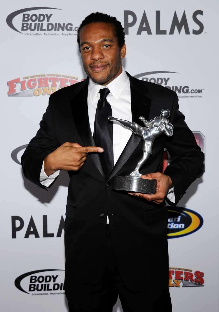 Herb Dean holds the Referee of the Year