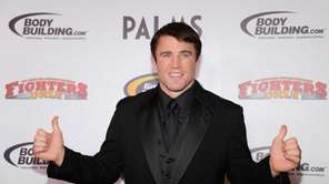Host and mixed martial artist Chael Sonnen arrives