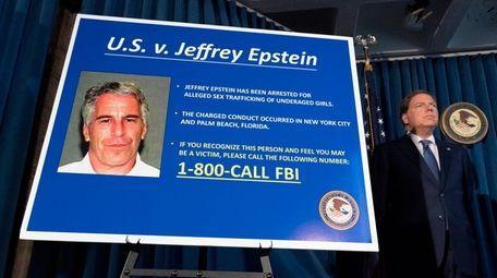 U.S. Attorney Geoffrey Berman announces charges against Jeffrey