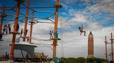 The new WildPlay zipline and adventure park at
