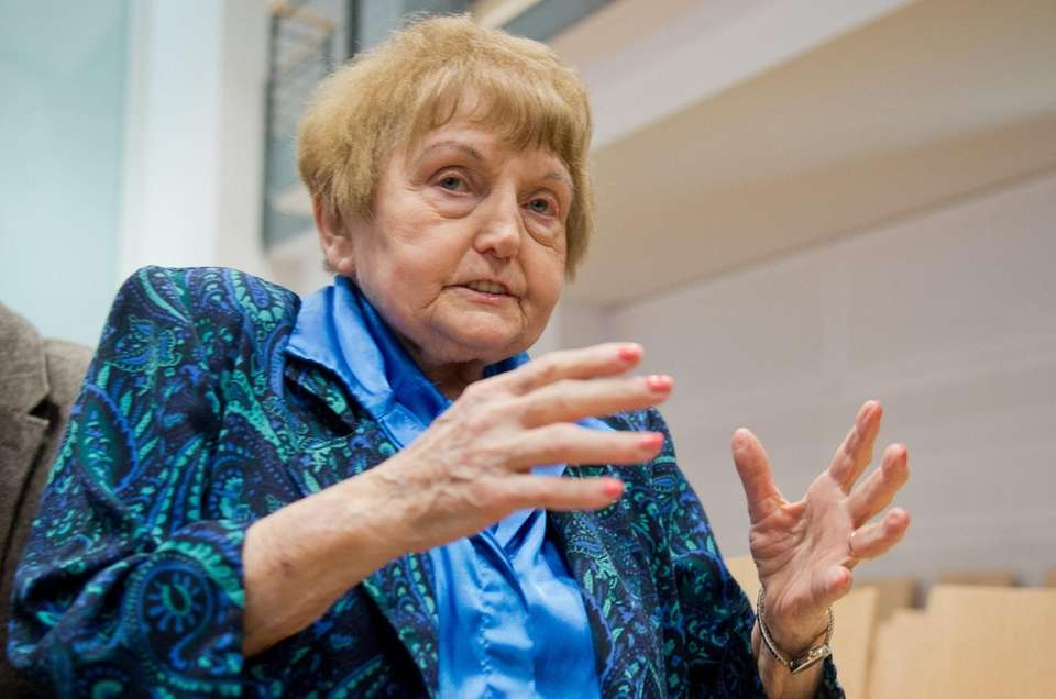 Holocaust survivor Eva Kor, who championed forgiveness even