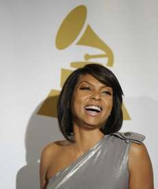 Taraji P. Henson is seen backstage at the