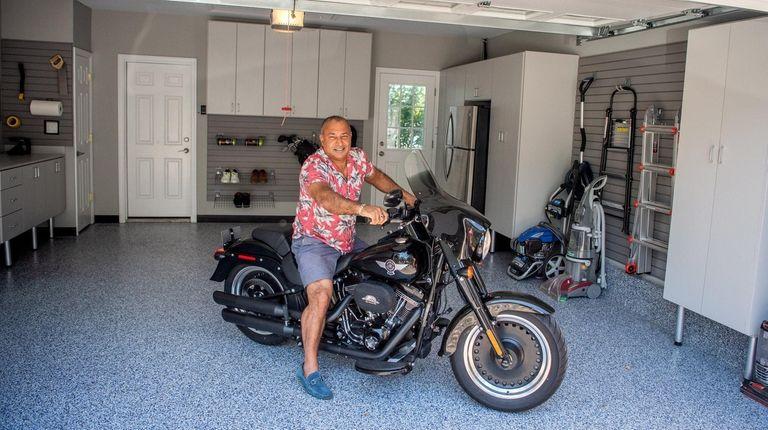 Raj Bhasin's Oakdale garage.