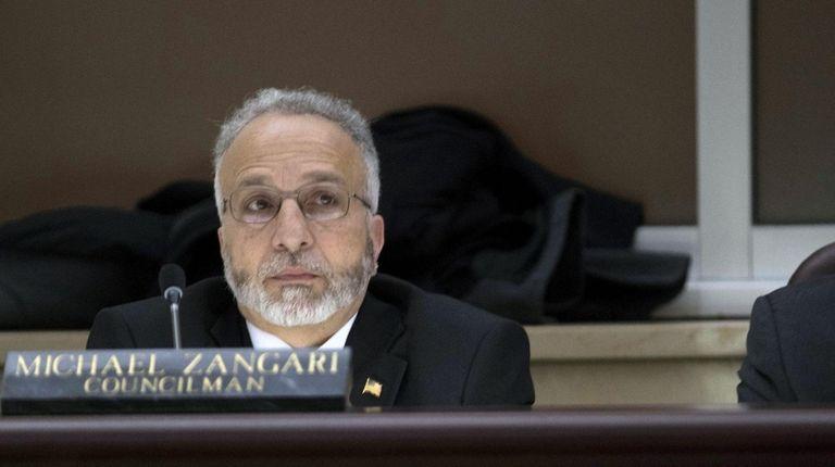 Michael Zangari in 2018.