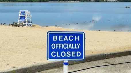 Lake Ronkonkoma Beach closed on Monday due to