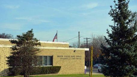 The U.S. Post Office in Roosevelt, ZIP code