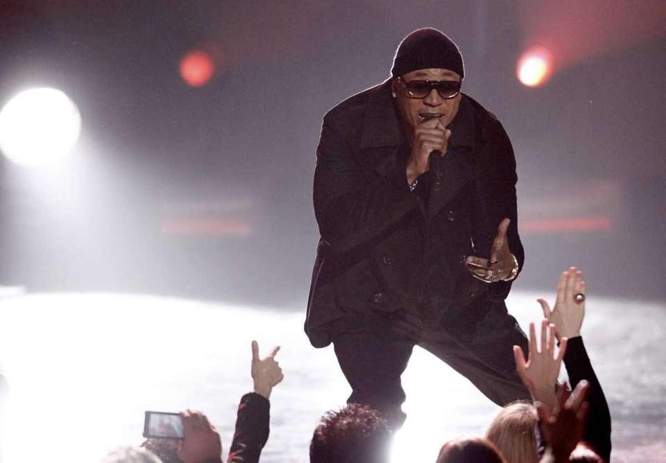 LL Cool J performs at the Grammy Nominations