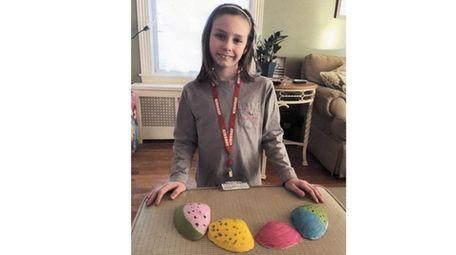 Kidsday reporter Mary-Pat Kolenik, of St. Anne's School,