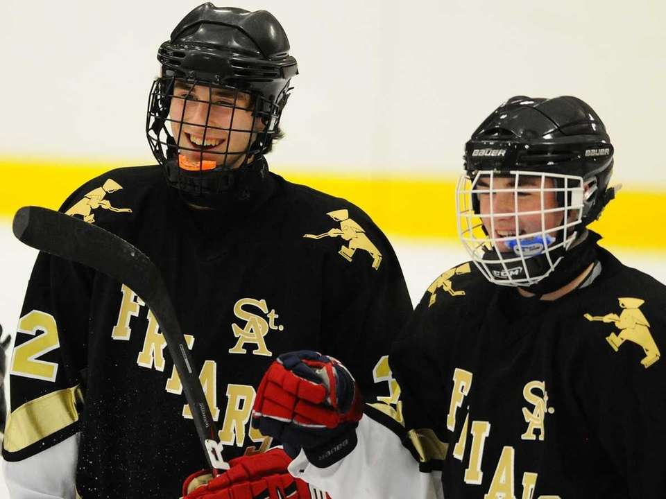St. Anthony's Nick Nici, left, and teammate Tyler
