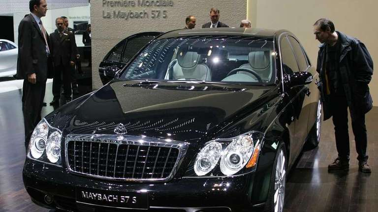 German carmaker Daimler said will stop producing Maybach