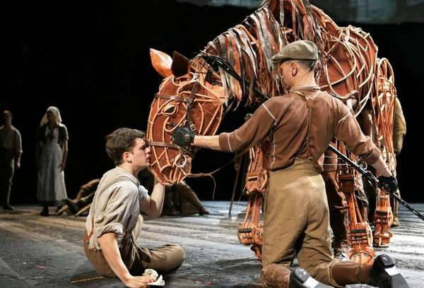 1. WAR HORSE (ongoing, Lincoln Center Theater) An