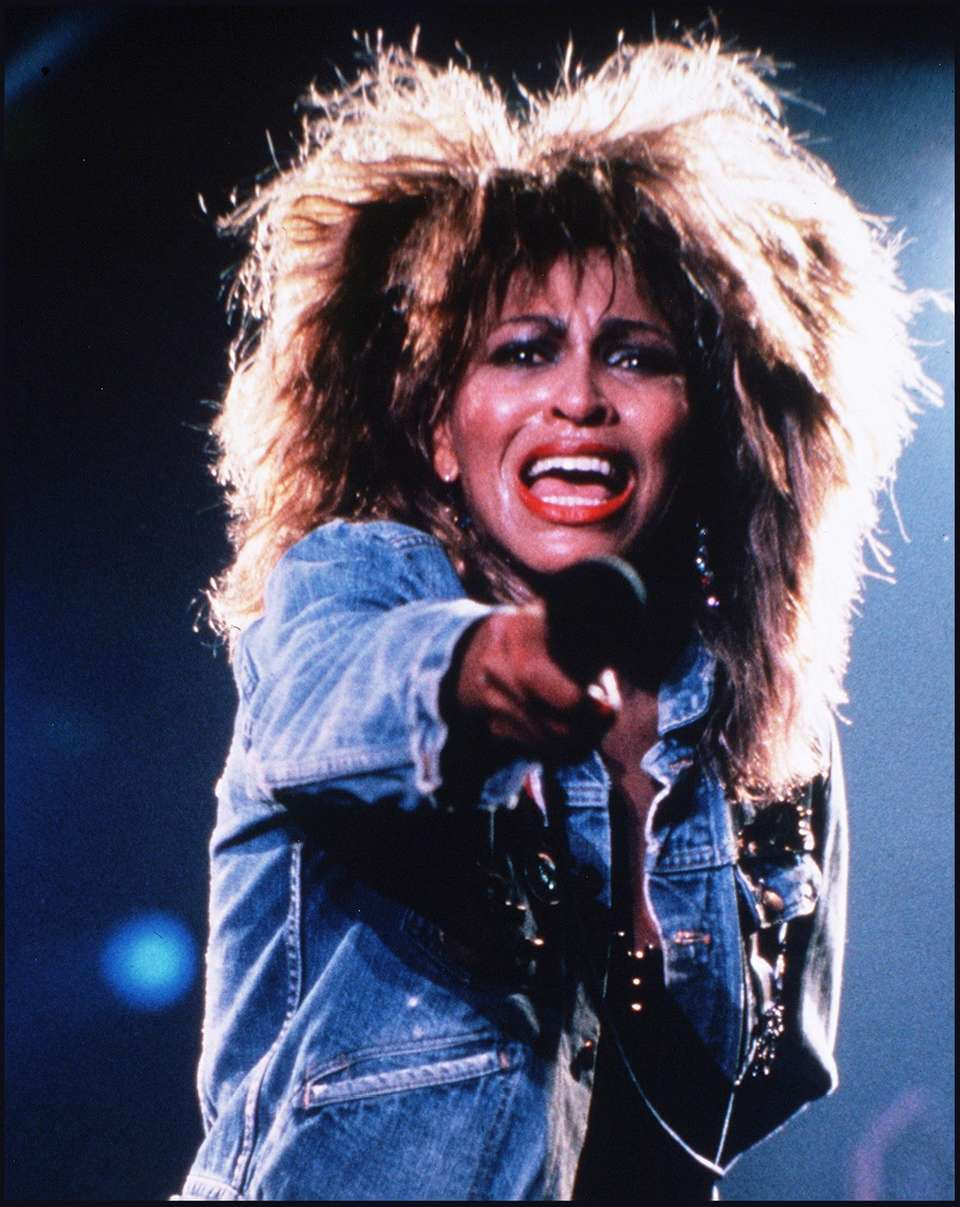 Stage name: Tina Turner Birth name: Anna Mae