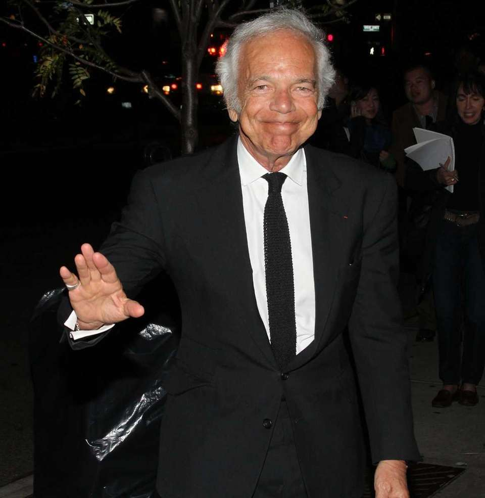 Stage name: Ralph Lauren Birth name: Ralph Lipschitz