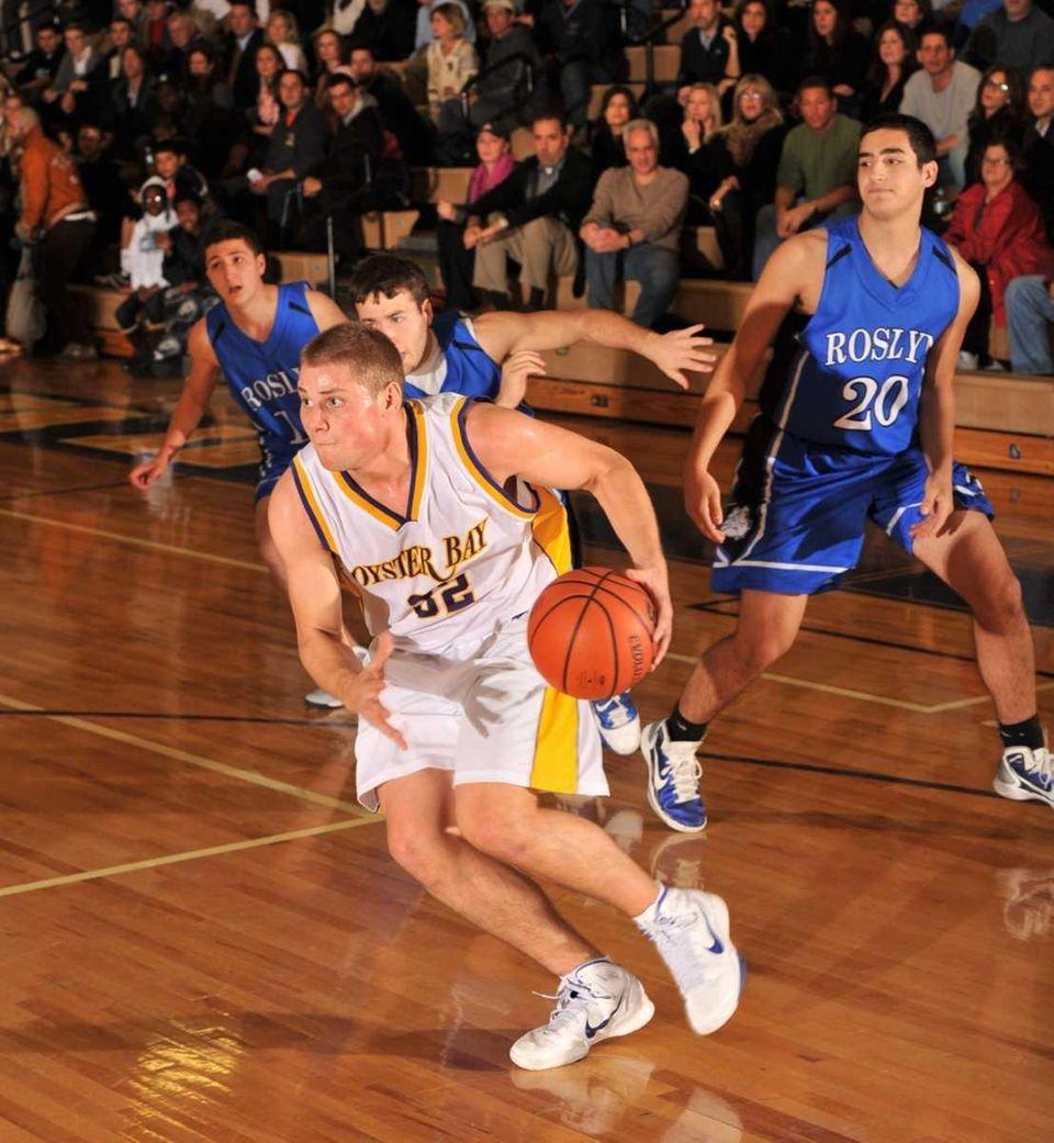 Roslyn vs. Oyster Bay Boys Basketball- Oyster Bay's