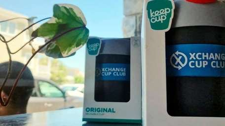 Reusable KeepCups have a starring role in the