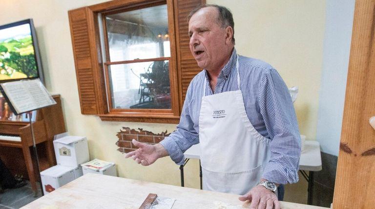 Winemaker and owner Sal Diliberto of Diliberto Vineyard