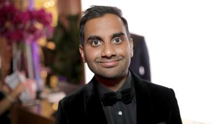 Aziz Ansari attends the Official Viewing and