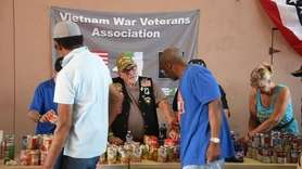 On Tuesday, the Veterans Stand Down event was