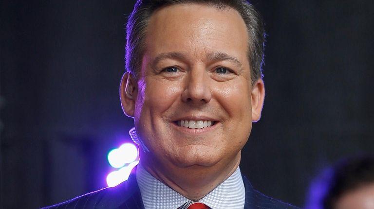 """Fox News' Ed Henry attends """"Fox & Friends"""""""