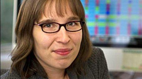 Ruth Van de Water, 33, of Port Jefferson
